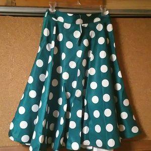 Polka-dot Skirt...NWT